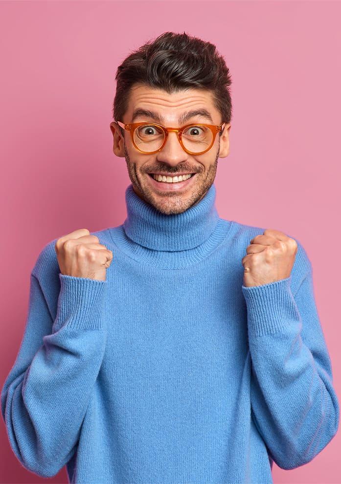 smile makeover for men
